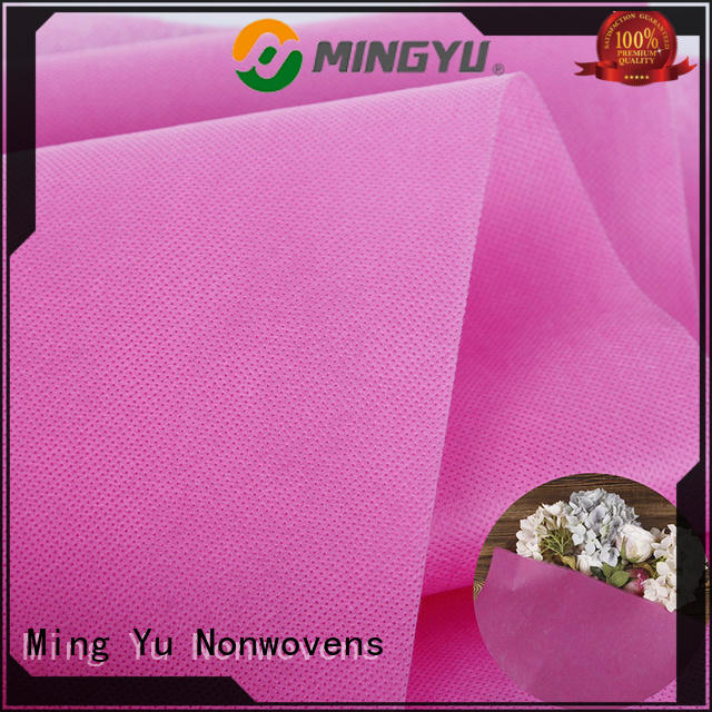 Ming Yu rolls pp spunbond nonwoven fabric rolls for handbag