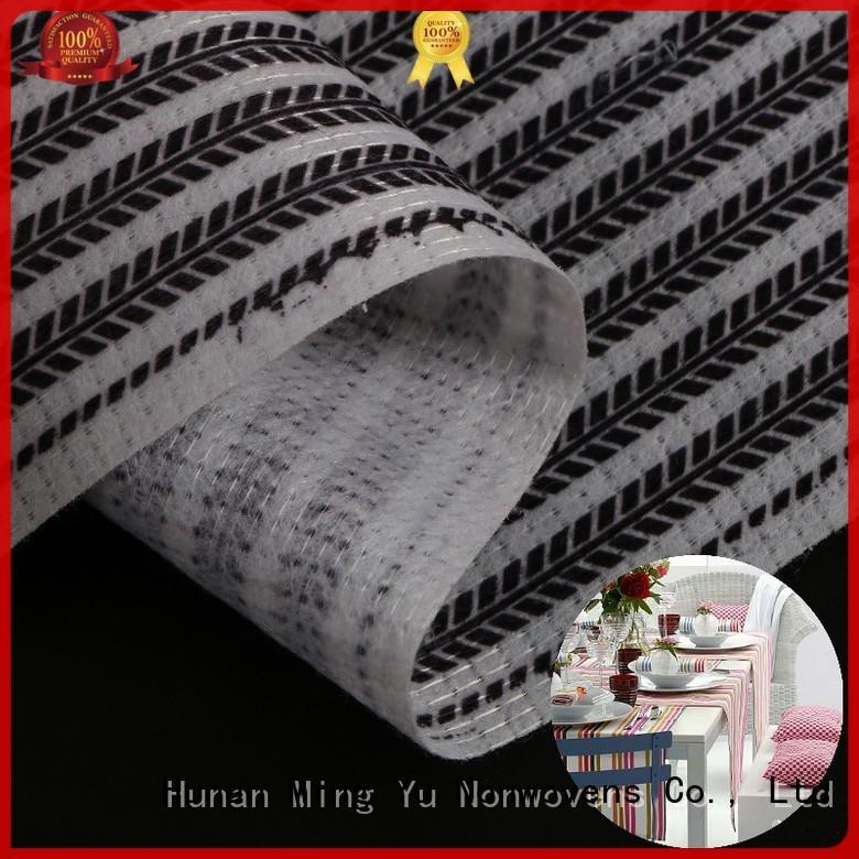 Ming Yu health stitch bonded polyester fabric pet for handbag