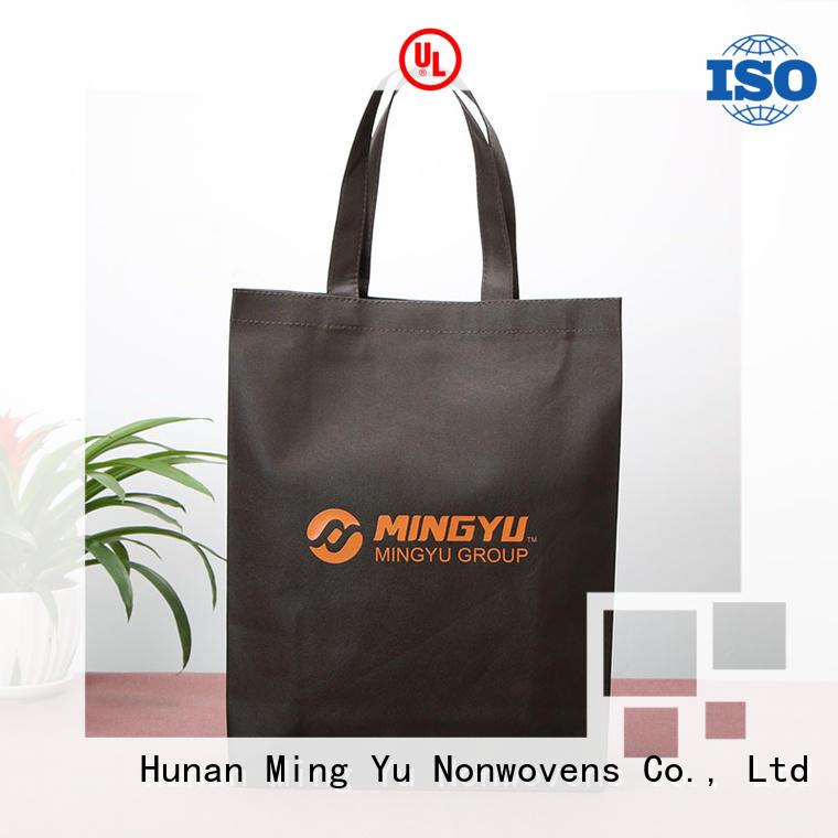 non woven reusable bags pp for home textile Ming Yu