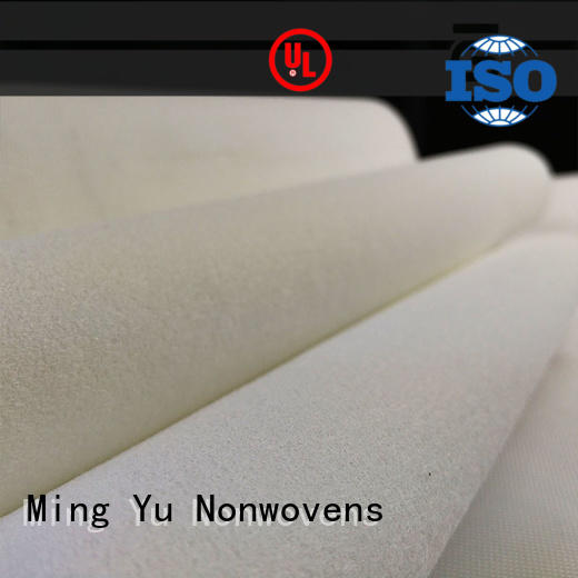 Ming Yu punched bonded fabric for business for handbag