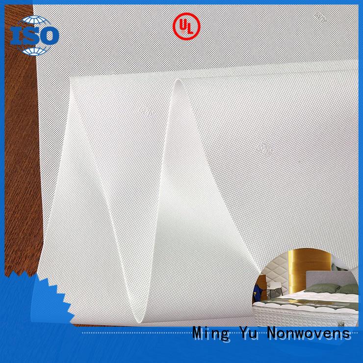 Ming Yu wide spunbond nonwoven rolls for bag