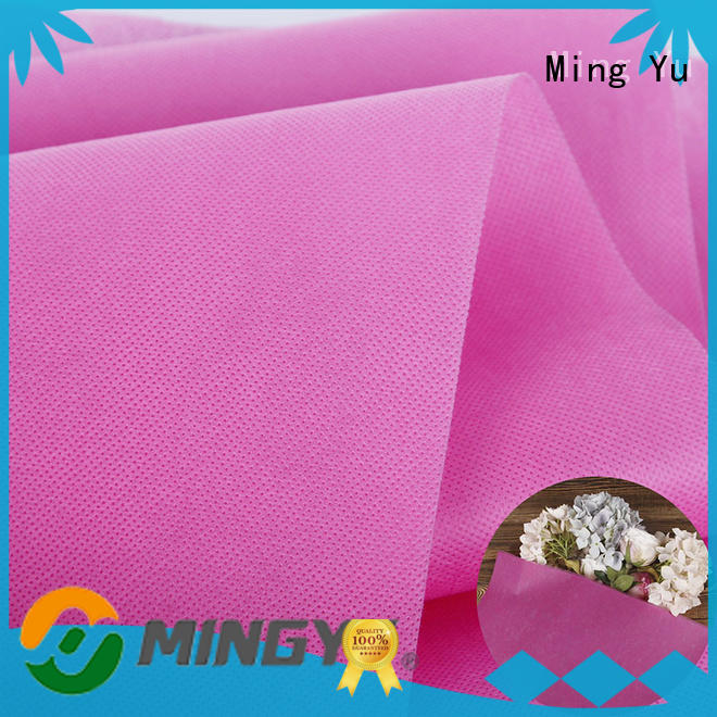 Ming Yu fabric polyester spunbond fabric recyclable for handbag