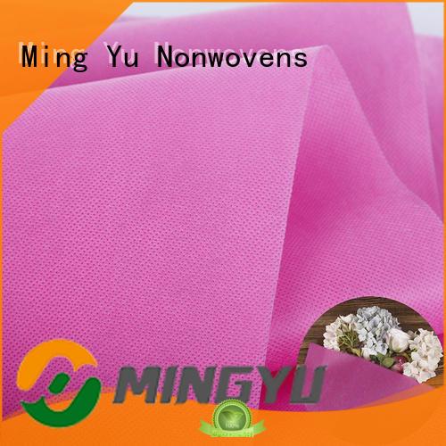 handbag pp spunbond nonwoven fabric rolls for handbag Ming Yu