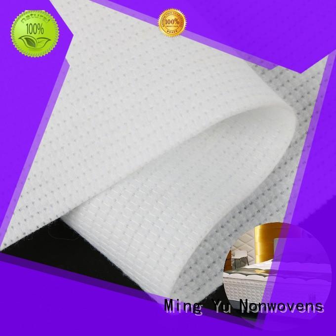Ming Yu health stitchbond nonwoven pet for home textile