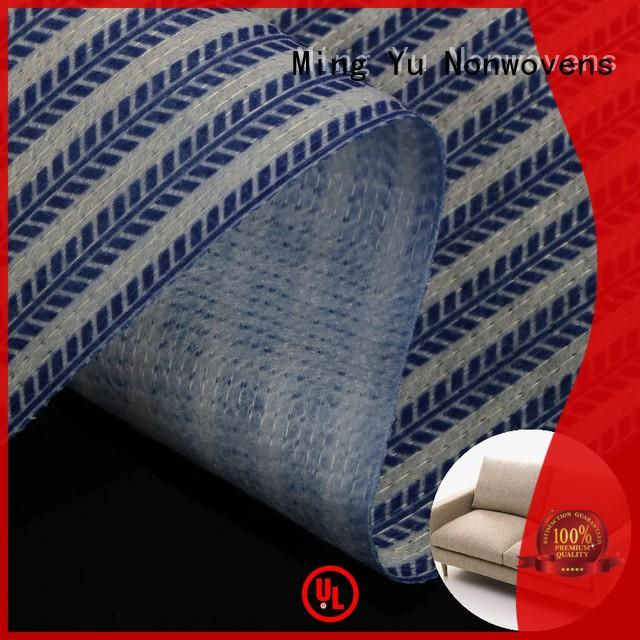 Ming Yu Top stitchbond polyester fabric Suppliers for home textile