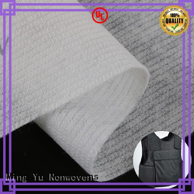 Ming Yu harmless stitch bonded fabric pet for home textile
