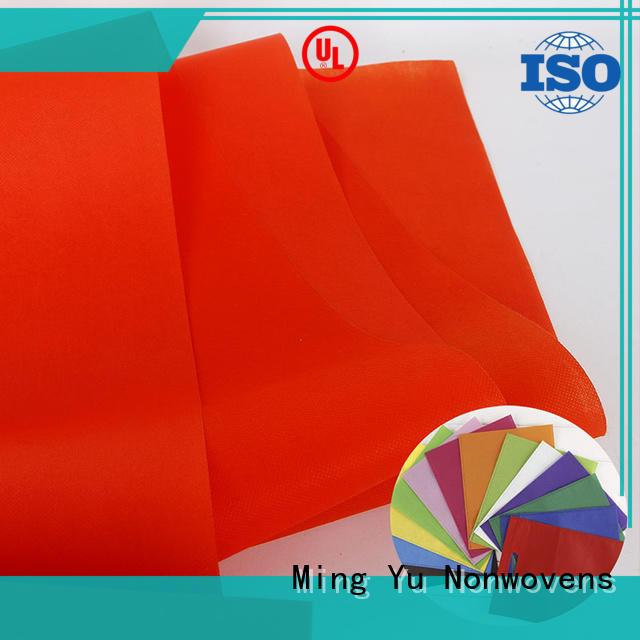 Ming Yu nonwoven non woven polypropylene for business for bag