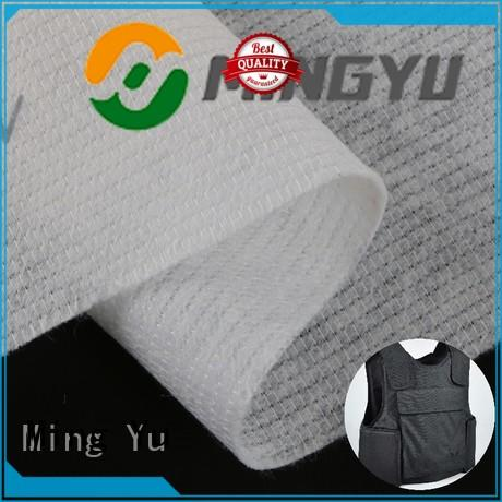 Ming Yu health non woven polyester mat antiyellowing