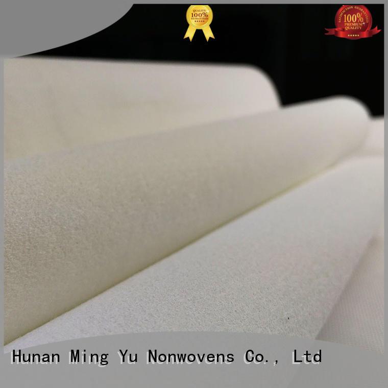 fibers polyester needle felt spandex Ming Yu