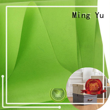 Ming Yu colorful pp spunbond nonwoven fabric rolls for storage