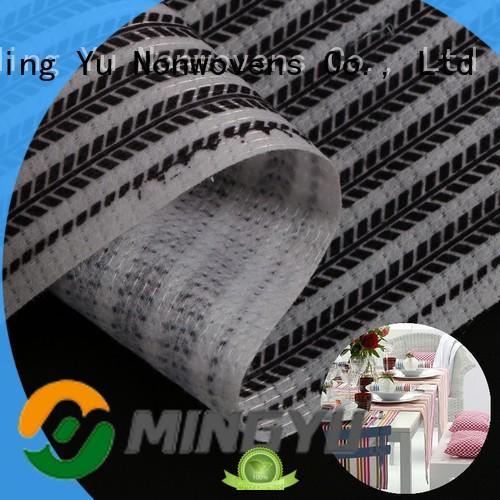 Ming Yu antiyellowing pet non woven fabric stitchbond for handbag