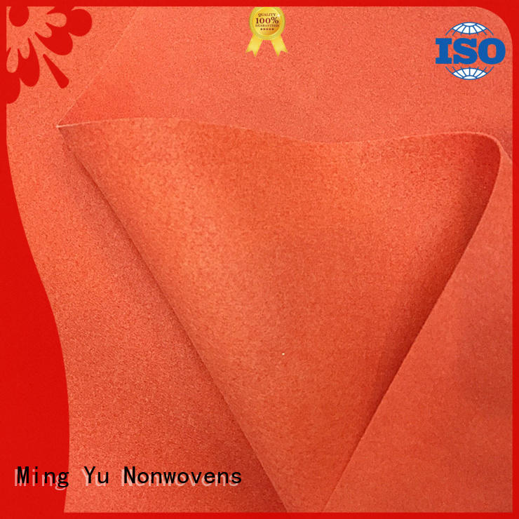uniform non woven polyester density for package Ming Yu