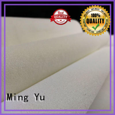 Ming Yu punched bonded fabric spandex for package