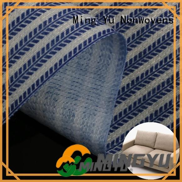 Ming Yu permeability stitchbond polyester fabric polyester for home textile