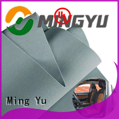 density needle punched non woven fabric spandex for home textile Ming Yu