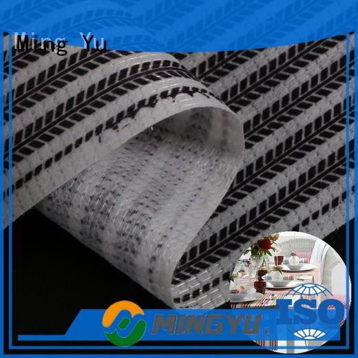 Ming Yu pet non woven polyester fabric Supply for package
