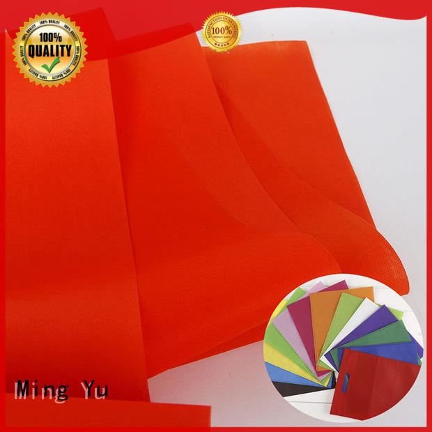 Ming Yu fabric non woven polypropylene rolls for storage
