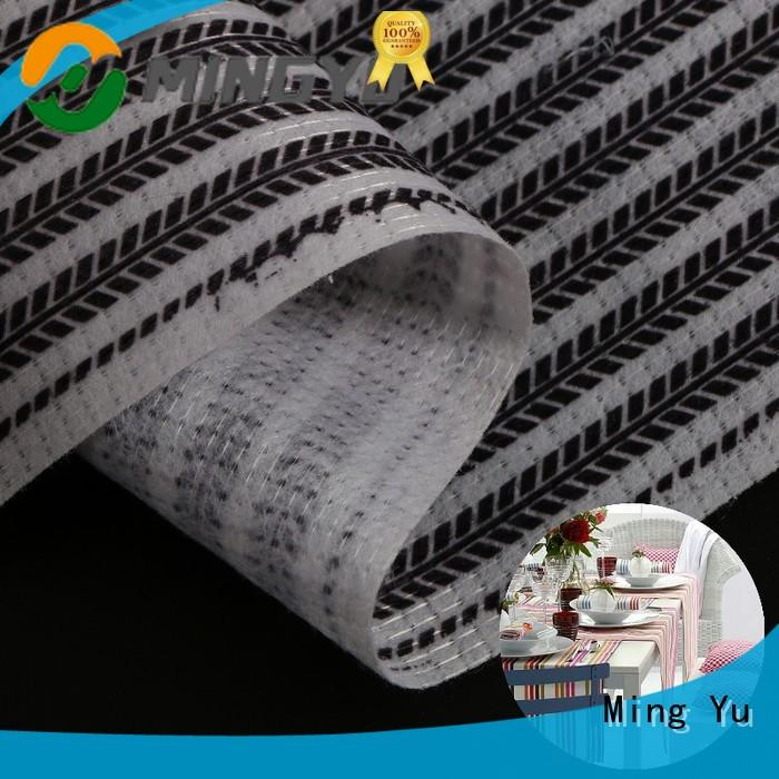 Ming Yu harmless non woven polyester fabric stitchbond for handbag