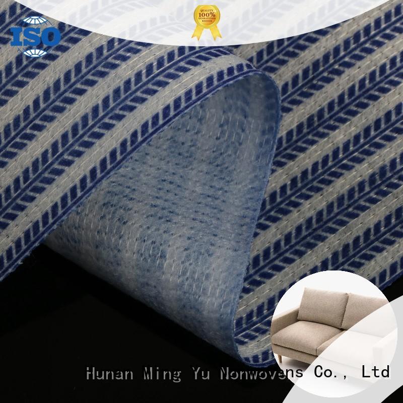 health stitch bonded polyester fabric pet for handbag Ming Yu