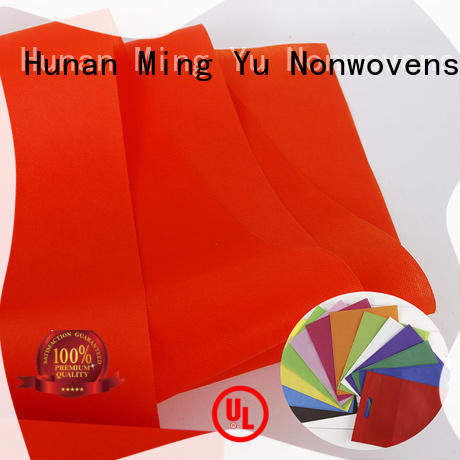Ming Yu fabric polyester spunbond nonwoven fabric applications for home textile