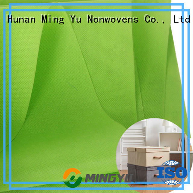 Ming Yu roll non woven polypropylene fabric factory for home textile