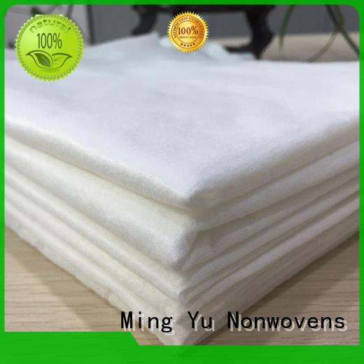 Ming Yu color pp spunbond nonwoven fabric sale for bag
