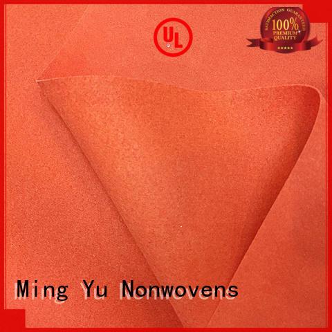 Ming Yu made bonded fabric factory for handbag