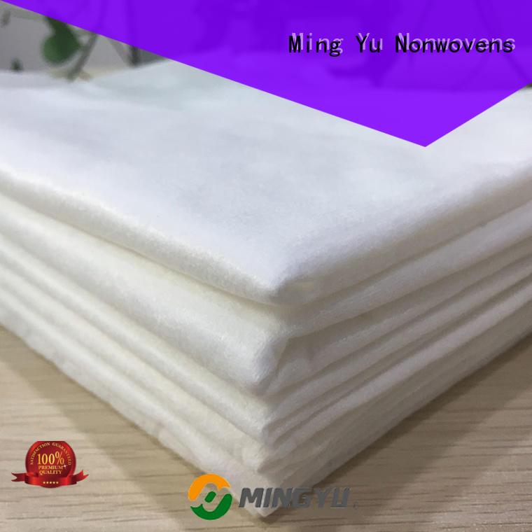 Ming Yu nonwoven spunlace fabric rolls for storage