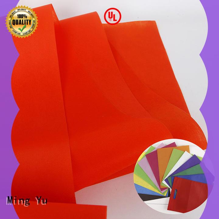 fabric polypropylene spunbond nonwoven fabric nonwoven for storage Ming Yu