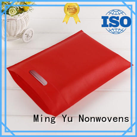 Ming Yu durable non woven printed bags product for package
