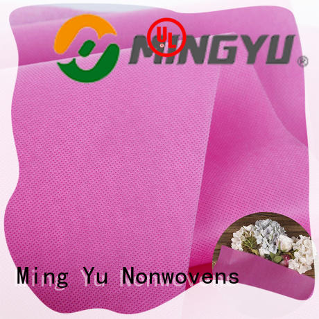 Ming Yu fabric spunbond nonwoven roll for home textile