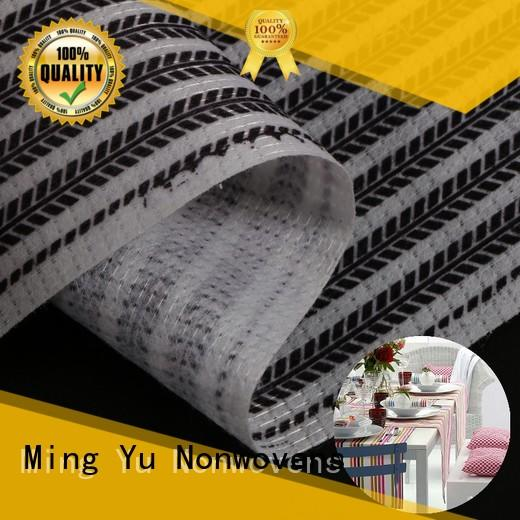 Ming Yu pet stitch bonded nonwoven fabric pet for home textile