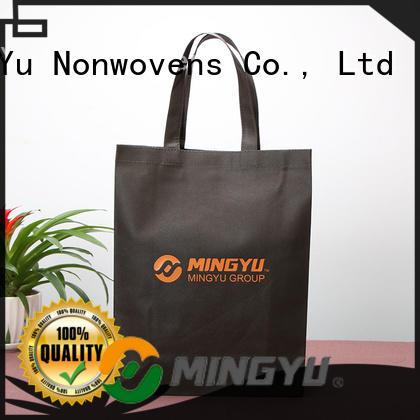 Ming Yu non non woven bags wholesale colors for handbag