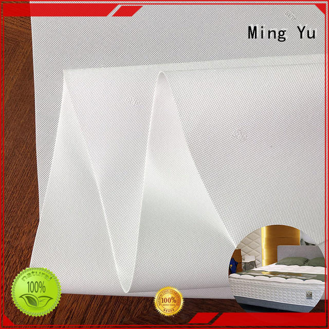 Ming Yu recyclable pp non woven fabric nonwoven for home textile