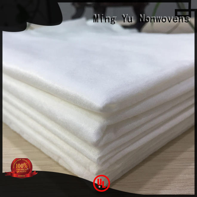 Ming Yu polypropylene spunlace fabric Suppliers for bag