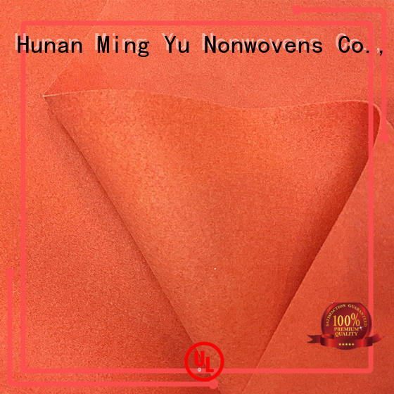 Ming Yu polyester bonded fabric for business for home textile