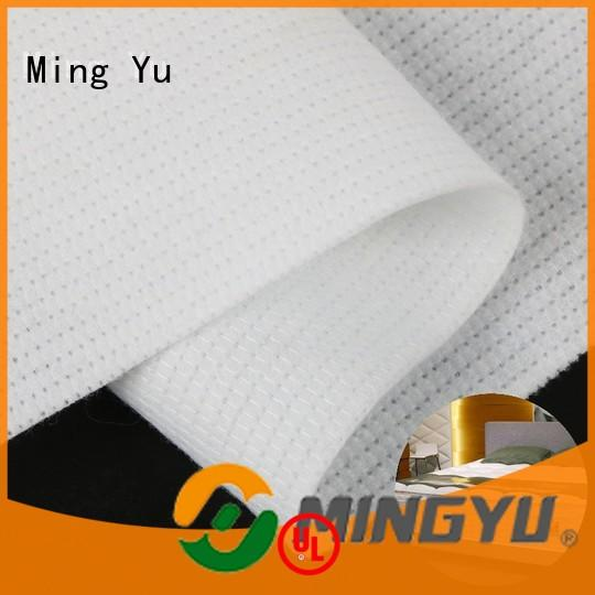 Ming Yu harmless stitch bonded nonwoven fabric stitchbond for package