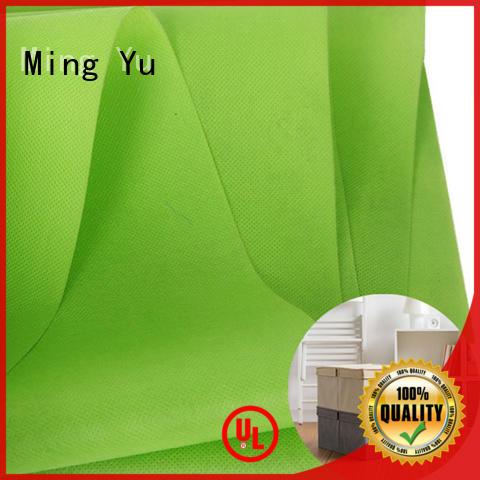 Ming Yu moistureproof spunbond nonwoven rolls for handbag