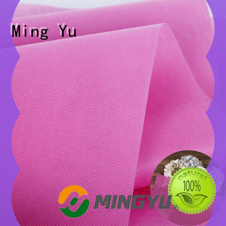 recyclable pp spunbond nonwoven fabric textile rolls for home textile