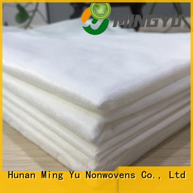 Ming Yu ecofriendly spunbond fabric rolls for home textile