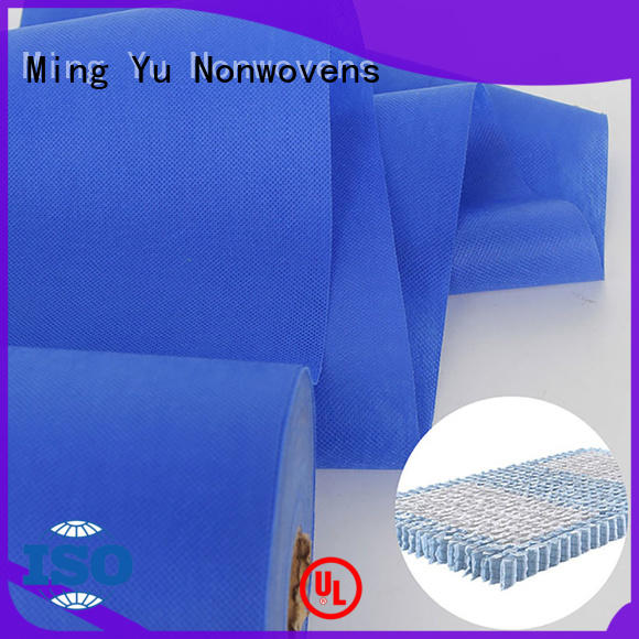 Ming Yu colorful spunbond nonwoven fabric manufacturers for handbag