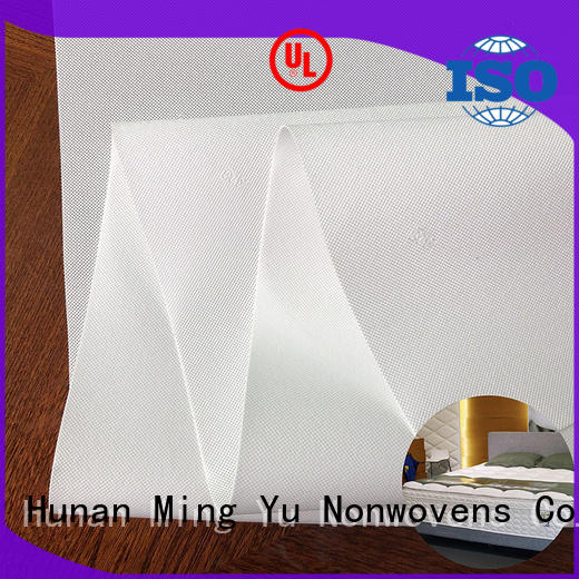Ming Yu roll pp spunbond nonwoven fabric company for home textile