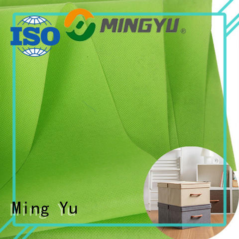 Ming Yu colorful spunbond nonwoven nonwoven for package