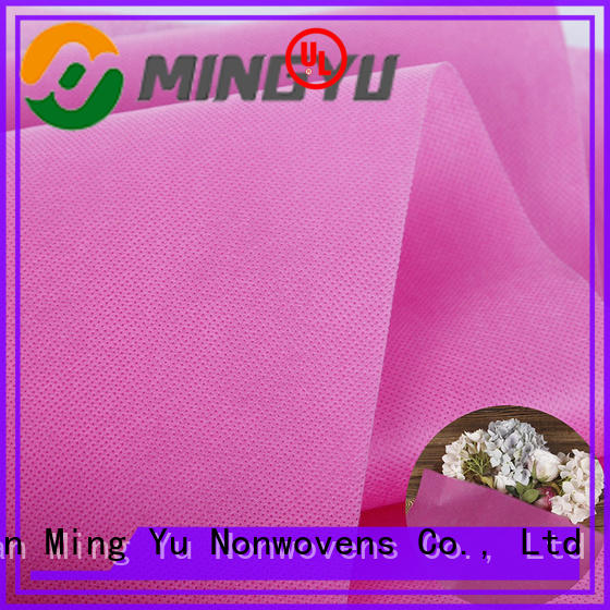 Ming Yu recyclable polypropylene fabric for sale colorful for storage