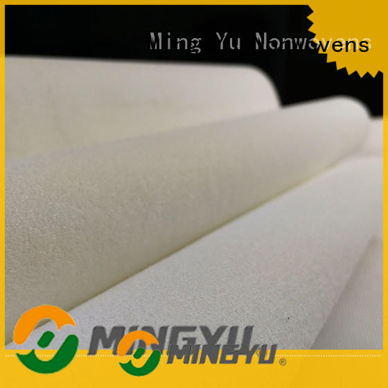 Ming Yu oriented needle punched non woven fabric sale for handbag