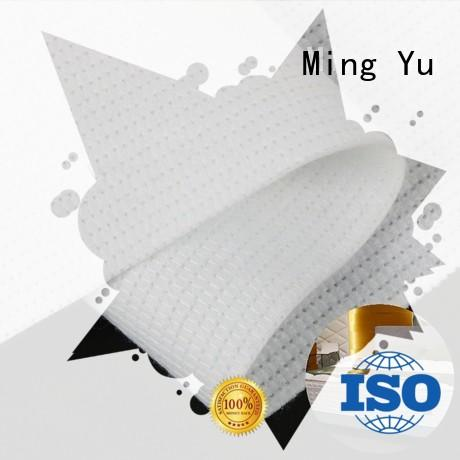 Ming Yu fabric non woven polyester fabric stitchbond for storage