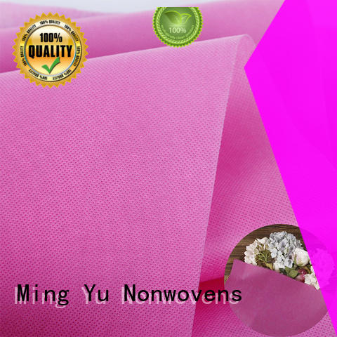 Ming Yu recyclable woven polypropylene fabric rolls for package