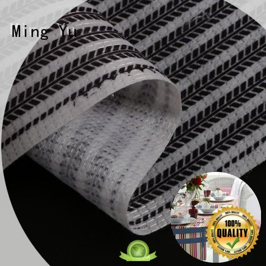 polyester quality non woven fabric environmental for home textile Ming Yu