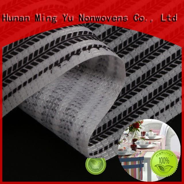 Ming Yu permeability bonded fabric polyester for home textile