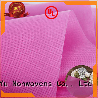 Ming Yu colorful non woven polypropylene for business for home textile